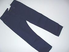 H&M Colored Navy Jeans Adjustable Waist Denim Boys Boy Size 5-6 Years NWT