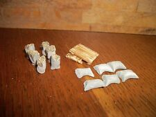 Pack of 12 Hand-crafted Wheat Sacks with Pallets OO Gauge