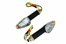 Black Long Stem E-marked LED Indicators for Honda CBR 600 F3 F4i 929 954 1000 RR