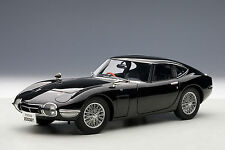 Toyota 2000 GT Coupe, Upgraded, Black 1:18TH Scale AutoArt 78750