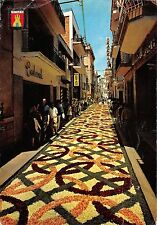 B33158 Stiges Vith Flowers Street    spain