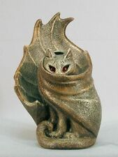 Grimalkin Cat Spirit Familiar Candle Lamp Stone M. Pena Windstone Editions #2017