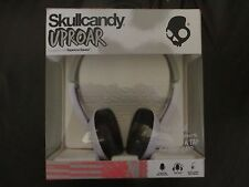 Skullcandy S5URHT-501 white Uproar On Ear Headphone Taptech NEW IN BOX