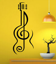 Music Wall Decal Vinyl Sticker Music Notes Treble Clef Interior Art Decor (8mu6)
