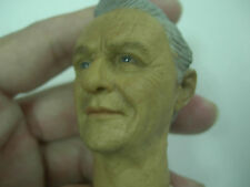 "1/6 scale HeadPlay Anthony Hopkins Head Sculpt  for 12"" figure Hannibal"
