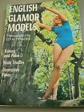 Ed Alexander's English Glamor Models Nude Studies - 1966 - #72