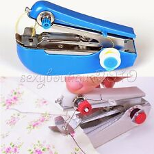 Home Garden Small Helper Portable Mini Manual Handheld Sewing Machine Sergers