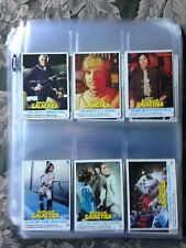 Cool! Battlestar Galactica 132 Trading Cards in protective holder for Binder