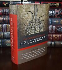 The Complete Fiction of H.P. Lovecraft Brand New Hardcover Edition