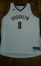 Adidas NBA Basketball Brooklyn Nets Deron Williams #8 White Home Jersey 2xl new
