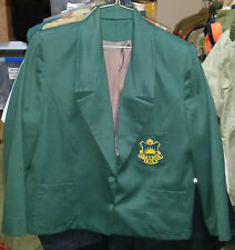 WW2 A.W.A.S. ASSOCIATION of QLD GREEN BLAZER JACKET - SMALL SIZE 8-12