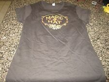 Magic Hat Brewing Company Ladies T-Shirt - Brown - Ladies Small