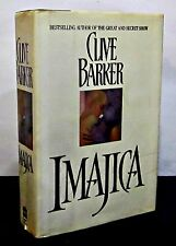 1st/1st Printing IMAJICA by CLIVE BARKER HCDJ - SIGNED/INSCRIBED W/ DRAWING
