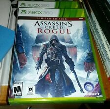 ASSASSINS CREED ROGUE LIMITED EDITION XBOX 360 RETAIL GAME FACTORY SEALED NEW
