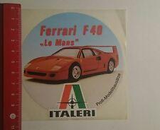 Aufkleber/Sticker: Italeri Ferrari F40 Le Mans (281116102)