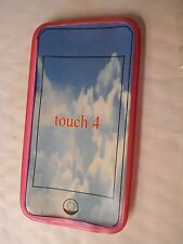 IPOD TOUCH 4 4th generation SILICONE CASE OR BLUE WALLET CASE with mirror
