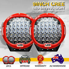 2X 9inch 1998W Cree Led  Spot Work Driving Light  OFFROAD