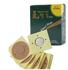 20 PCS KIHOANG Large size Therapy Acupuncture Press Pellets A-Q Pressor Silver