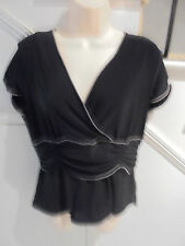 LADIES KAMIKO PETITES SIZE 14 STUNNING BLACK TOP 'PERFECT'
