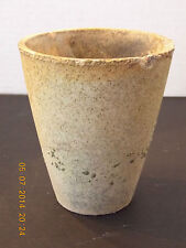 VINTAGE ASSAY MINING - DENVER FIRE CLAY STONEWARE CRUCIBLE