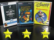 OFFERTA STOCK 3 GIOCHI NUOVI PC BLACK E WHITE TOY STORY 2 DARKENED ITA STOCK173