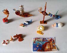 Collezione Sorprese Kinder -  piratelli pz 8 (*) K2
