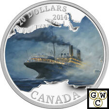 2014 Silver RMS Empress of Ireland Colorized Proof $20 Silver Coin 1oz (13899)