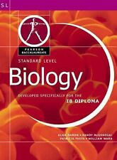 Pearson Baccalaureate: Standard Level Biology for the IB Diploma (Pearson Intern