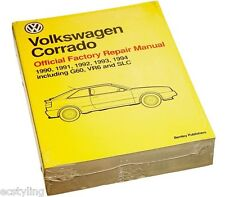 Volkswagen VW Corrado Bentley Service Repair Manual 90 91 92 93 94 VC94
