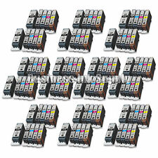 100 PACK PGI-220 CLI-221 Ink Tank for Canon Printer Pixma MX860 MX870 MP560
