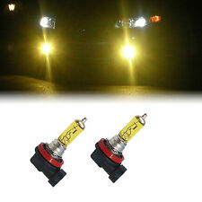YELLOW H11 XENON 100W LOW BEAM BULBS TO FIT Honda Accord MODELS