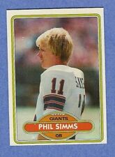 Topps 1980 NFL - Complete Set - Phil Simms & Lester Hayes RC - NRMT/MT