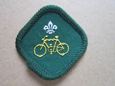 Cyclist Proficiency Woven Cloth Patch Badge Boy Scouts Scouting