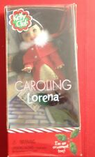 Kelly Cllub Caroling Lorena Collectable Doll/Ornament 2001 NIOB #55908/55643
