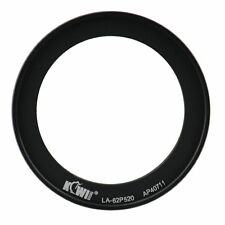 Kiwifotos 62mm Lens Filter Adapter Ring For Nikon Coolpix P510 P520 P530 Camera
