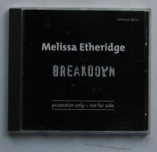 Melissa Etheridge Breakdown Rare Ger Adv CD Diff Cover 1999
