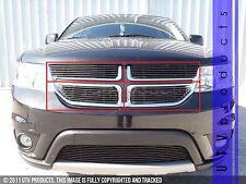 GTG 2011 -2016 Dodge Journey R/T / SXT 4PC Gloss Black Overlay Billet Grille Kit