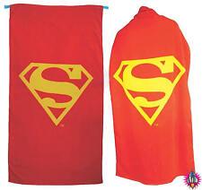 Oficial grandes Superman superhéroe Cape Logo Rojo Playa Toalla De Baño Nuevo Con Etiquetas