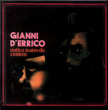 GIANNI D'ERRICO antico teatro da camera CD FIRST PRESS Mini-LP sleeve replica