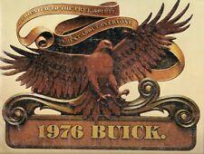 Buick Skyhawk Century LeSabre Electra Riviera 1976 Original USA Market Brochure