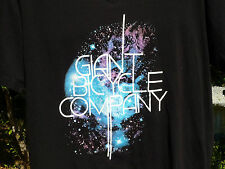 GIANT BICYCLE COMPANY LARGE BLACK T SHIRT MADE IN CANADA GIANT BIKES L T SHIRT