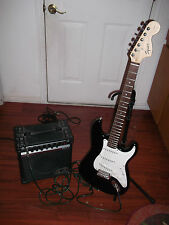 *Used* ~ Black Fender Squire Strat ~ Great Sound!