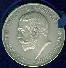 1929 British Silver Award Medal Issued for British Dairy Farmers Association