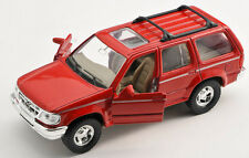 BLITZ VERSAND Ford Explorer rot / red  Welly Modell Auto 1:34  NEU & OVP