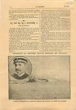 Cuirassés Grande Revue Navale Toulon l'Amiral Jauréguiberry 1911 ILLUSTRATION