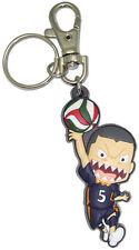 **License** Haikyuu PVC Keychain Karasuno Wing Spiker SD Ryunosuke Tanaka #85117
