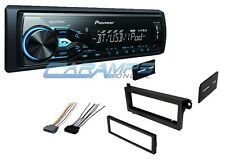 PIONEER BLUETOOTH CAR STEREO RADIO DIGITAL MEDIA RECEIVER W/ INSTALLATION KIT
