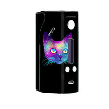 Skin Decal for Wisemec Reuleaux rx200 Vape Mod Box / Colorful Galaxy Space Cat