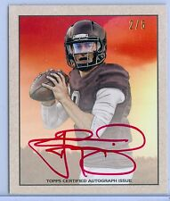 JOHNNY MANZIEL 2014 BOWMAN MINI RC ROOKIE RED INK AUTO AUTOGRAPH SP JERSEY #2/5