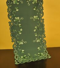 "St. Patrick's Day ~ Irish Greens 36"" Table Runner"